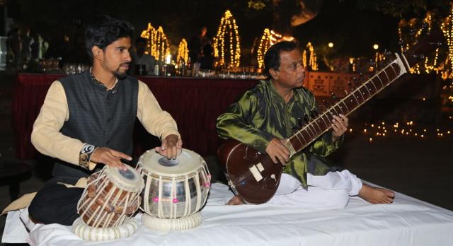 Diwali during India tour