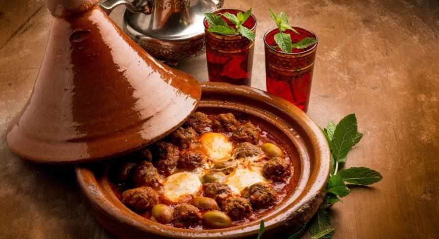 Marokkanische Tajine – ein Gericht aus dem Maghreb.