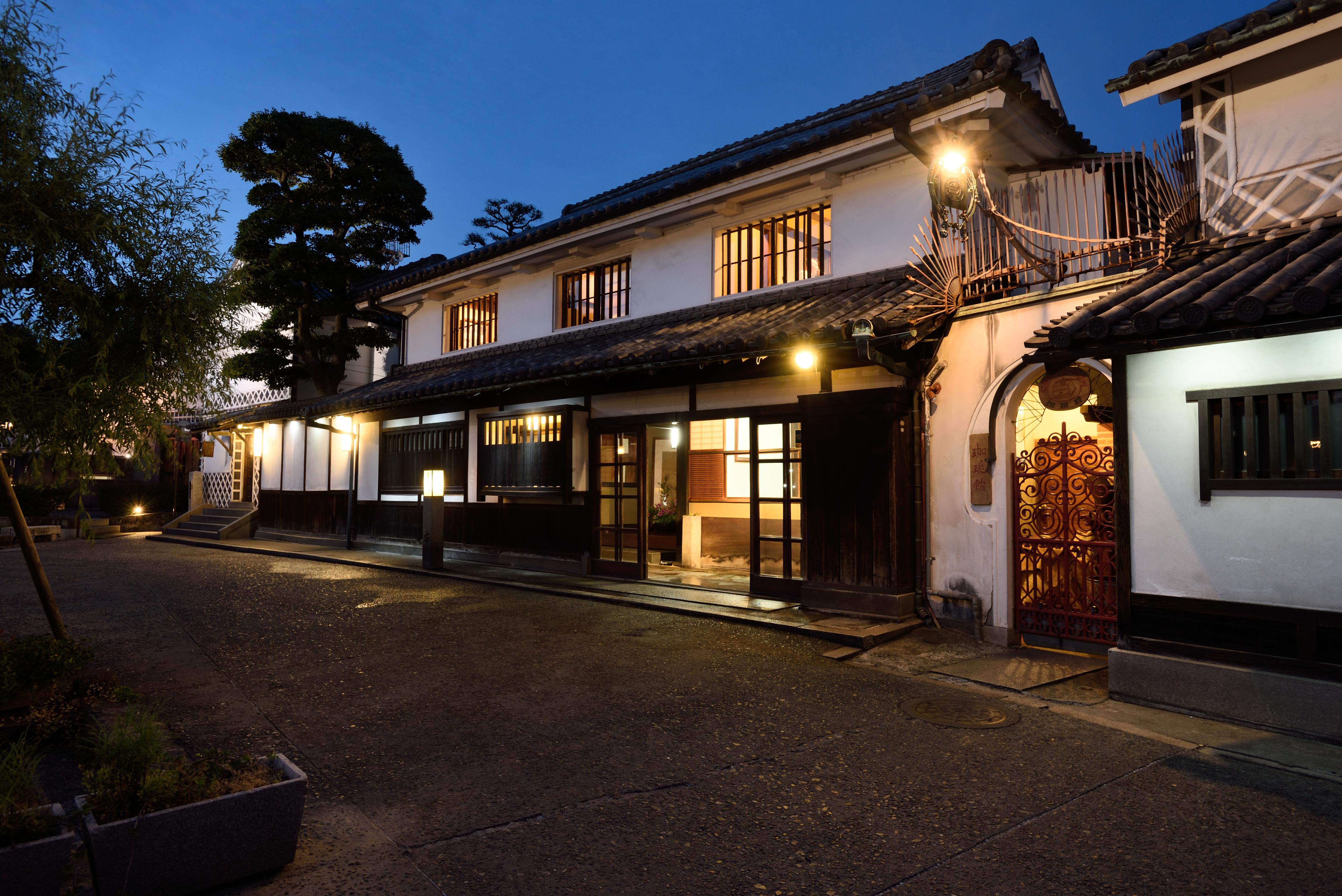 The Ryokan Kurashiki is a traditional Japanese guest house
