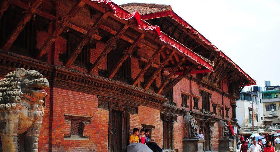 Eine der wichtigsten Nepal Sehenswürdigkeiten: Durbar Square in Patan