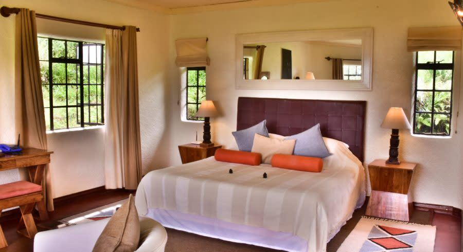 Room at Sabyinyo Silverback Lodge, Volcanoes National Park, Rwanda