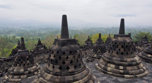 Borobudur Tempel in Indonesien