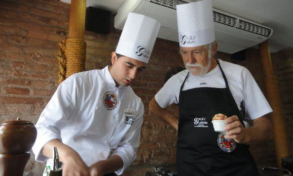 Kochkurs in Santiago