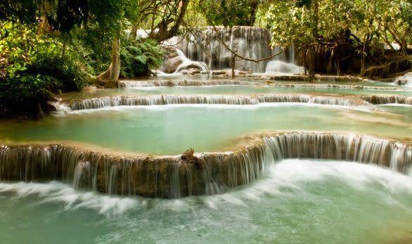 Kuang Si Wasserfälle, Luang Prabang, Laos
