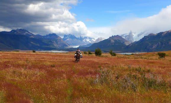 Berge und Gletscherwelt des Los Glaciares National Parks