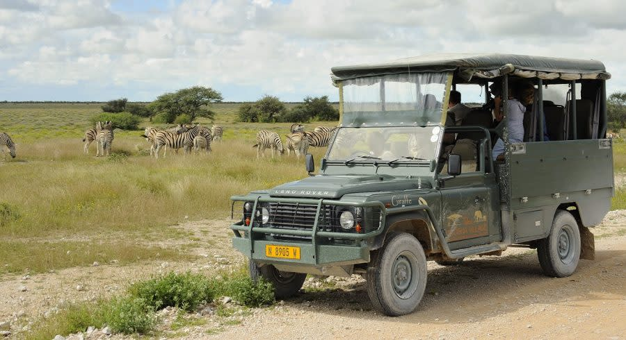 Enchanting Travels - Namibia Tours - Etosha Anderson Gate - Etosha Taleni Village - Game Drives