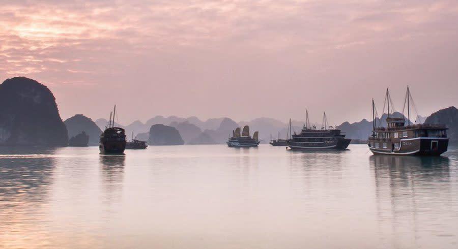 Das Land der Drachen -Halong Bay, Vietnam