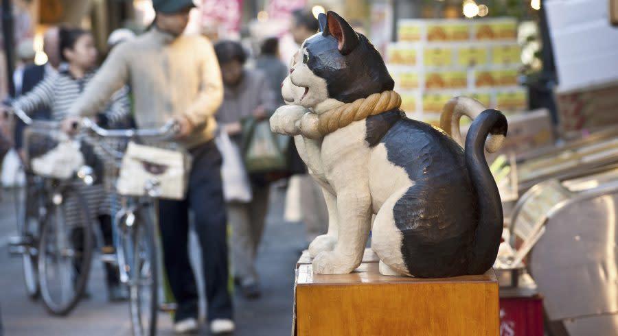 Tokio Altstadt