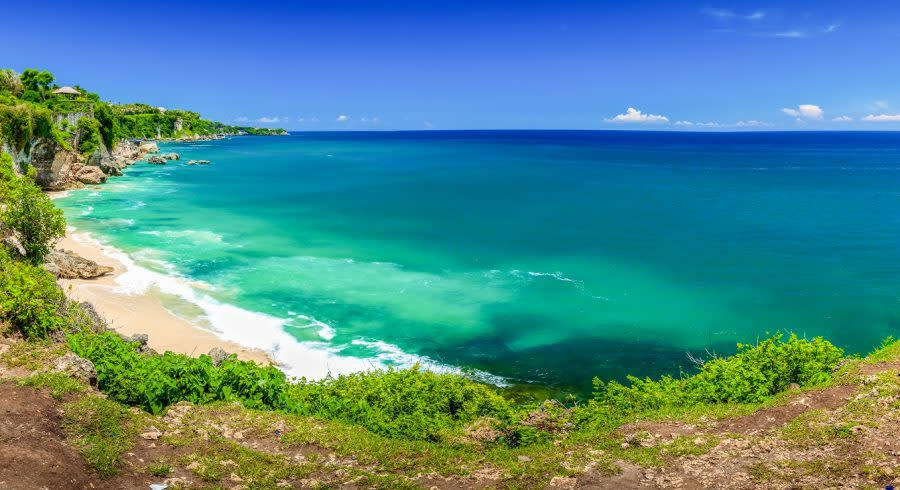 Enchanting Travels Asia Indonesia Jimbaran South Kuta Tropical beach Bali Indonesia, Bali