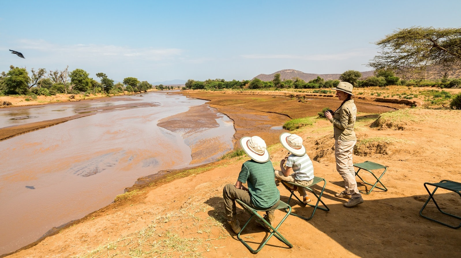 Ewasi Nyiro river in Samburu