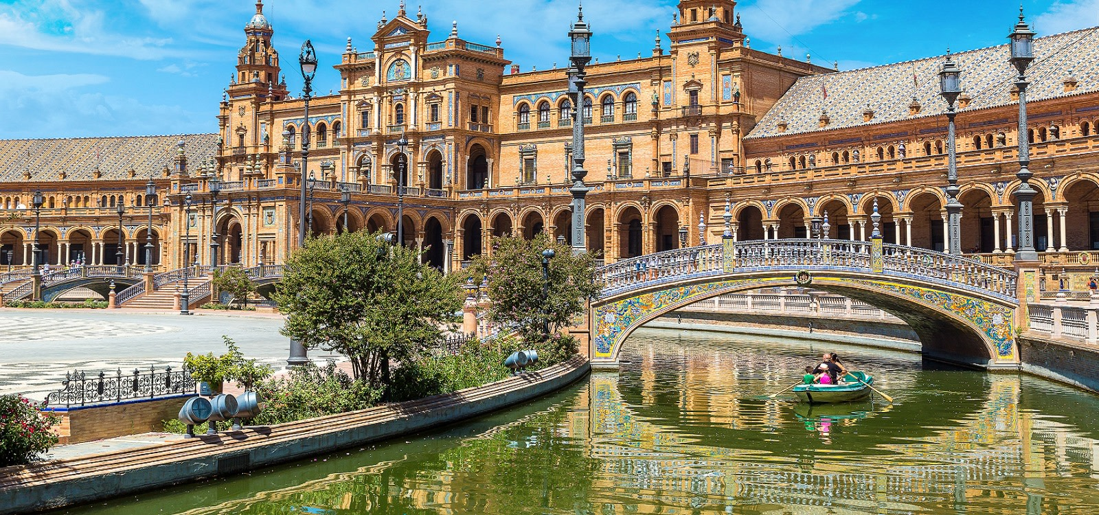Best things to do in Spain - boating in Seville
