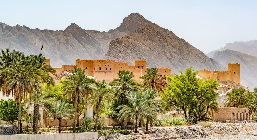 Nakhal Fort in Oman - things to do in Oman