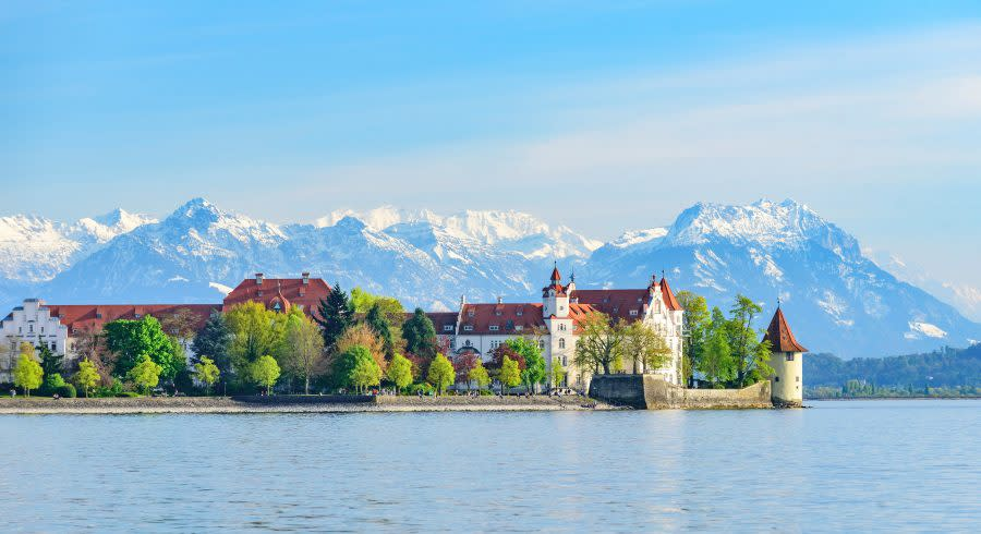 Lindau with Lake Constance - top 10 relaxing holiday destinations in europe