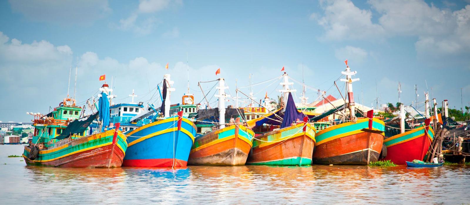 Vietnam und Kambodscha: Luxus Kreuzfahrt auf dem Mekong Urlaub 1