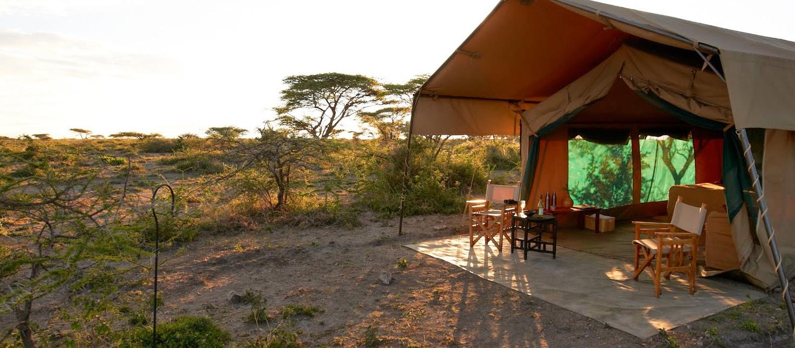 Hotel Ubuntu Camp S Tansania
