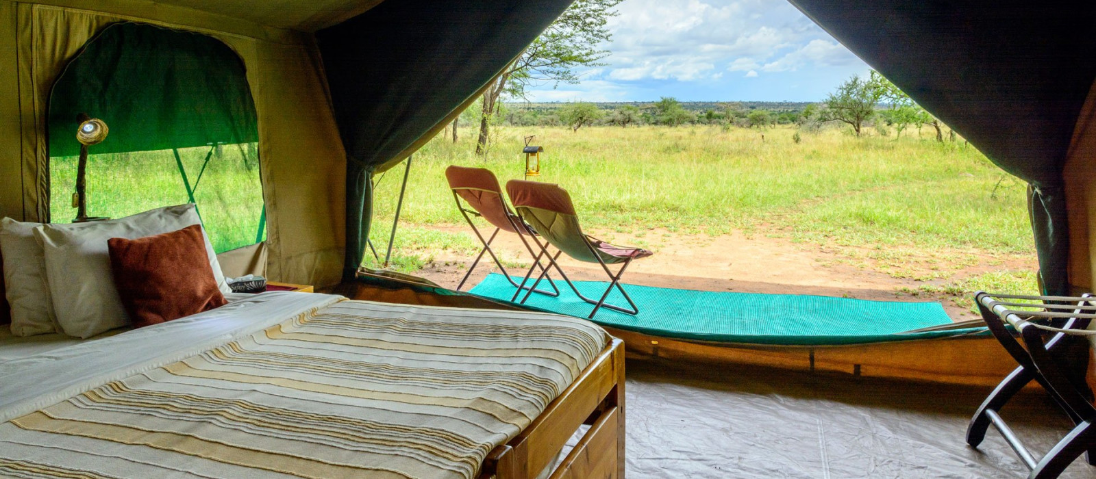 Hotel Serengeti Wilderness Camp Tansania