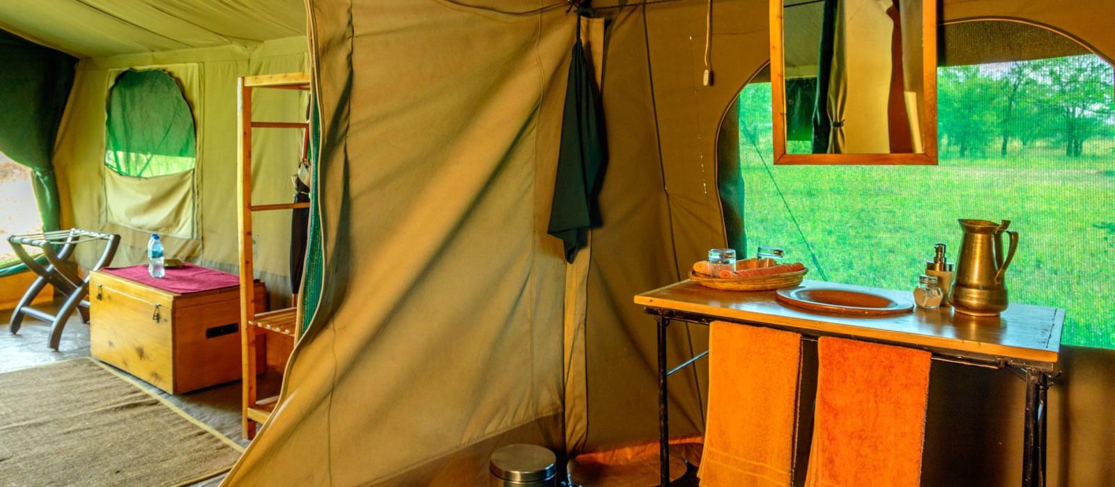 Hotel Serengeti Wilderness Camp Tansania
