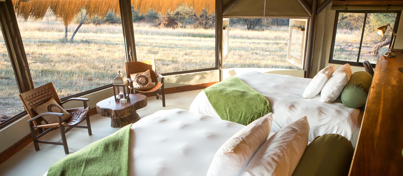 Hotel Okonjima Bush Camp Namibia