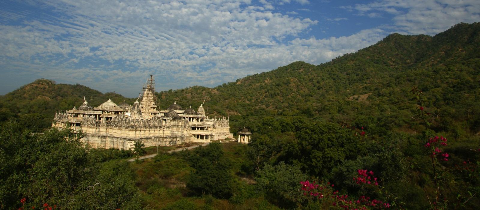 Reiseziel Ranakpur Nordindien