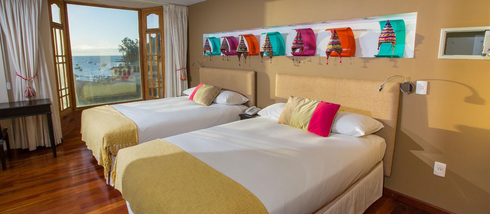 Hotel Rosario del Lago Bolivien