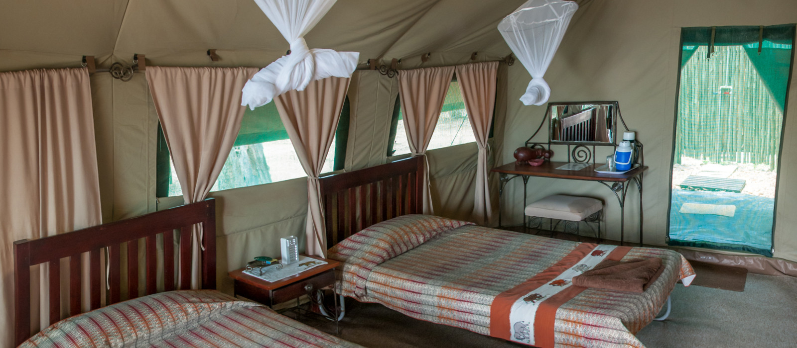Hotel Goliath Safaris Luxury Tented Camp Zimbabwe