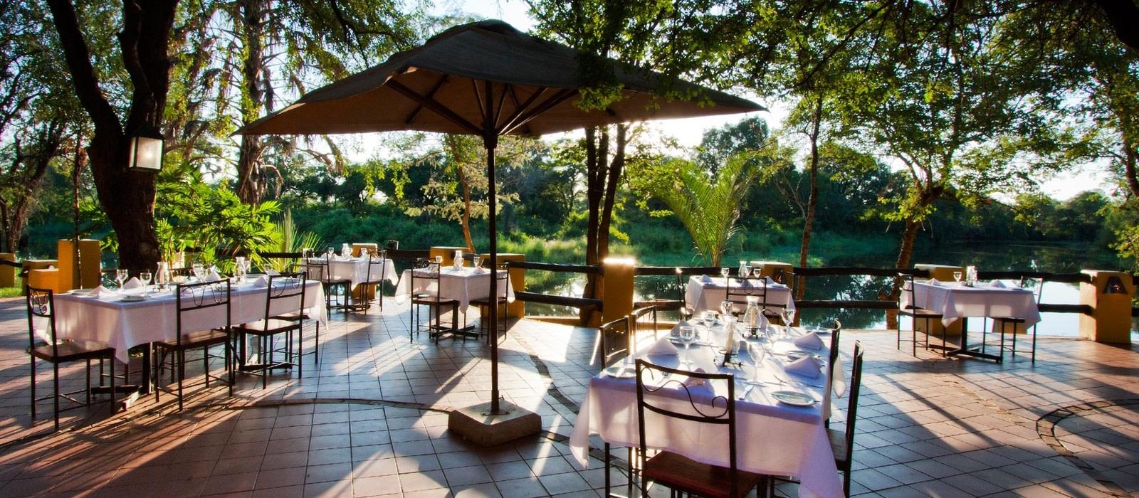 Hotel Maramba River Lodge Sambia