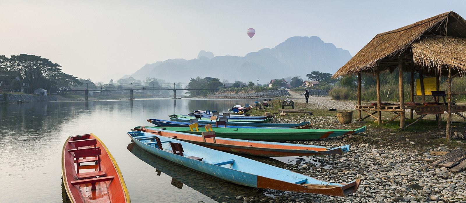 Reiseziel Huay Xai / Mekong Thailand
