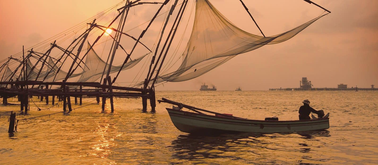 Kerala-Reise: Backwaters, Teeplantagen & Strand Urlaub 1