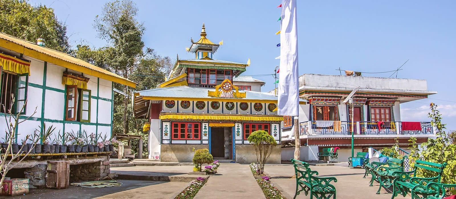 Reiseziel Gangtok Ostindien