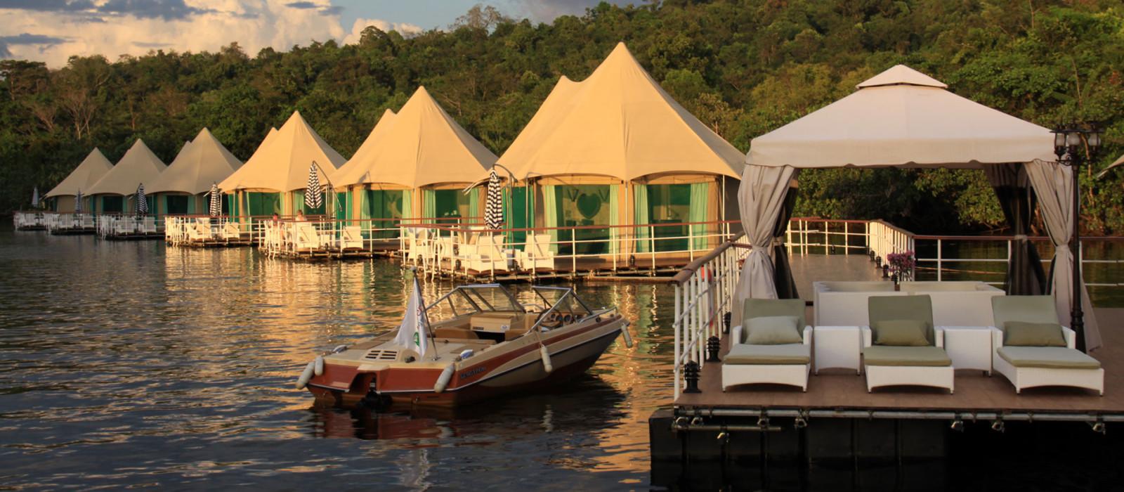 Hotel 4 Rivers Floating Lodge Kambodscha