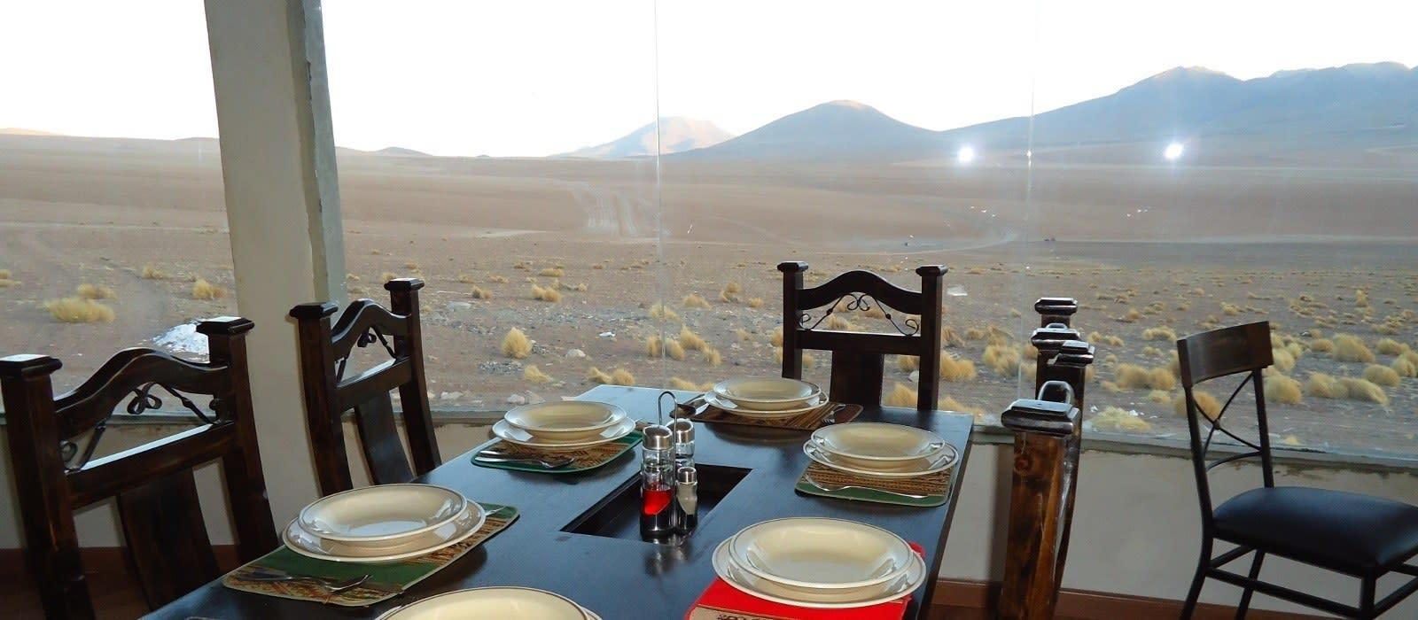 Hotel Tayka  del Desierto Bolivia