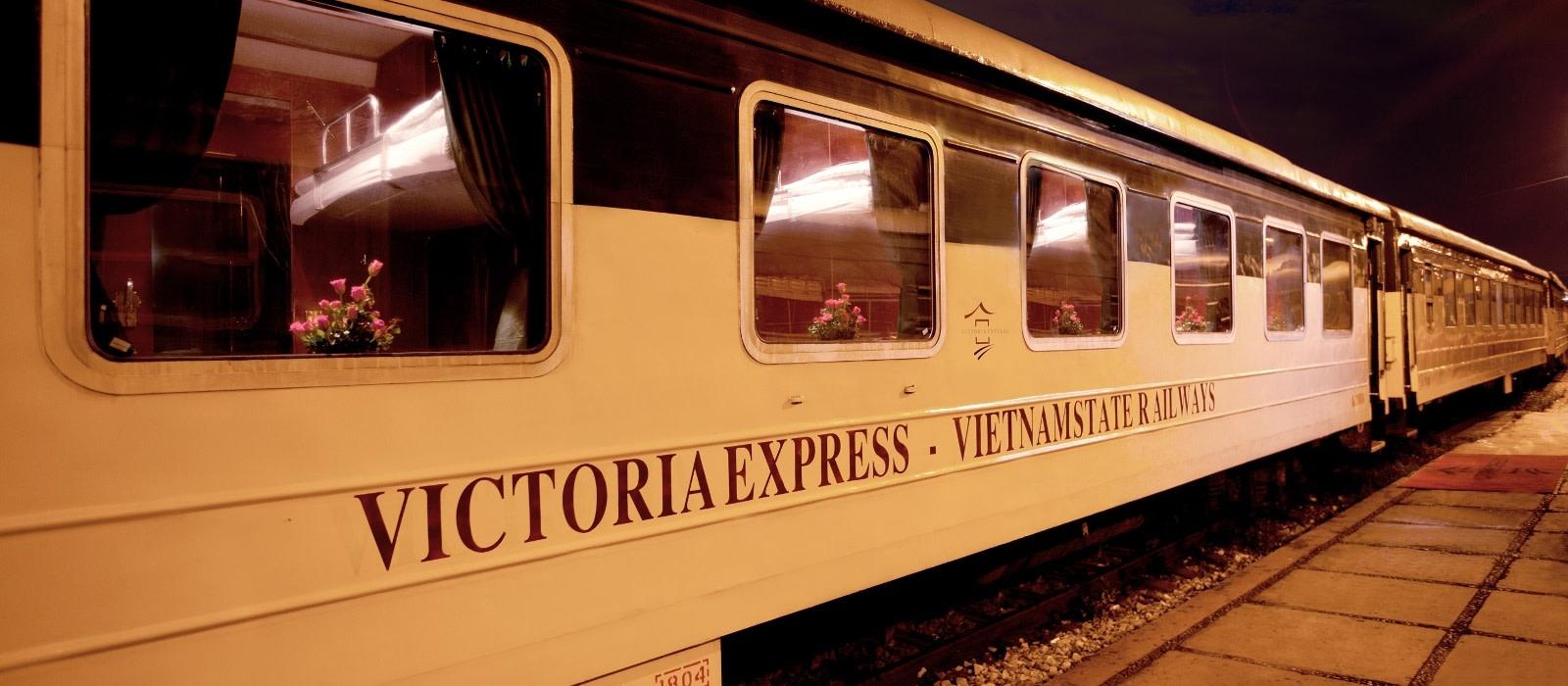 Hotel Victoria Express Train (Hanoi – Laocai) Vietnam