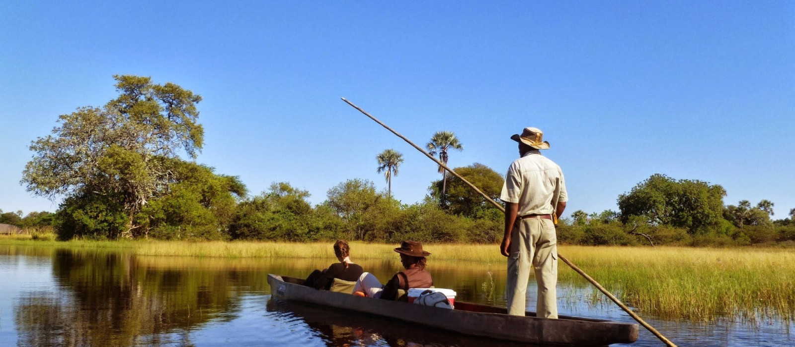 Botswanas glitzernde Wasserwunderwelten Urlaub 1