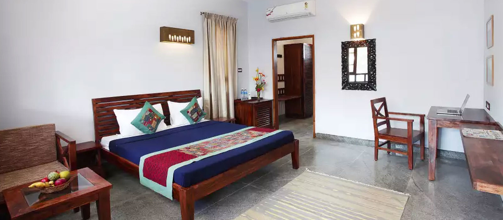 Hotel Heritage Resort Hampi Südindien