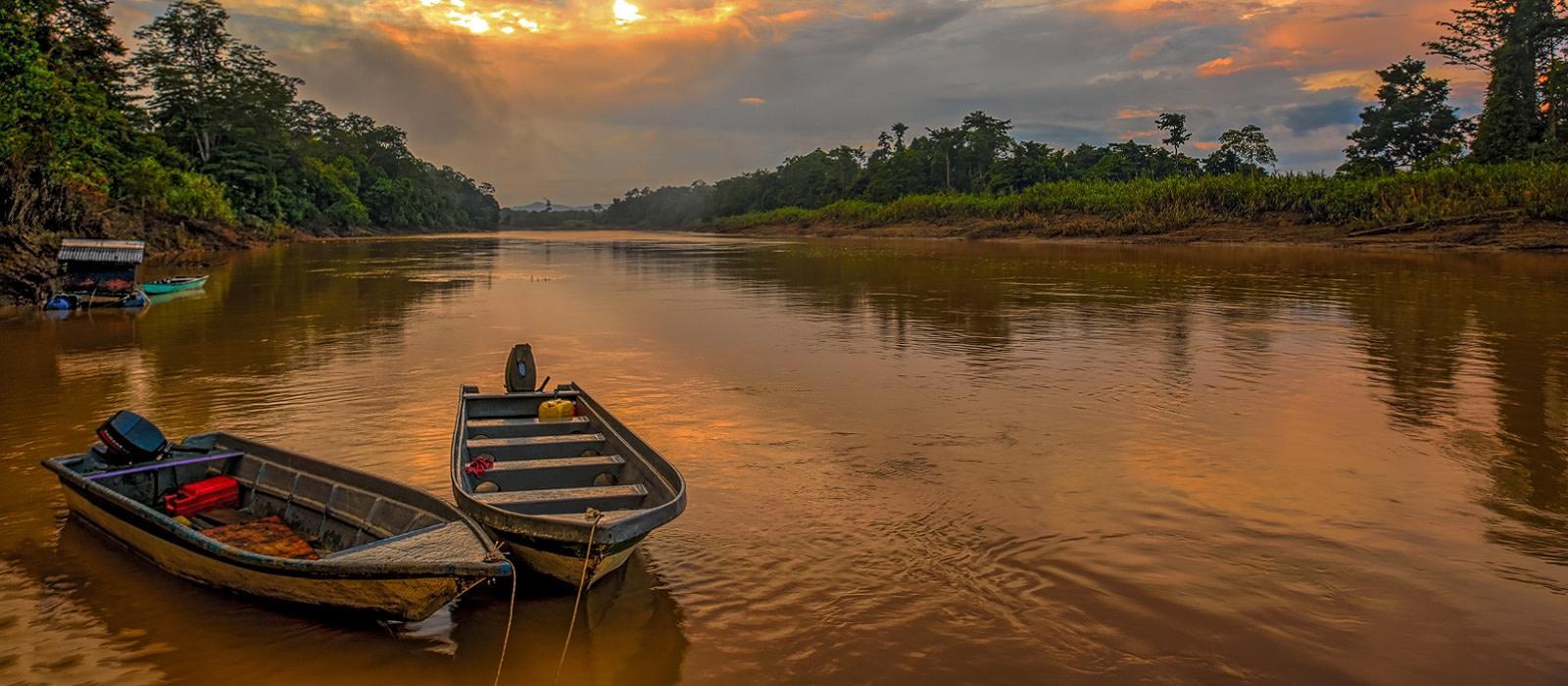 Wildnis & Strände Malaysias Urlaub 1