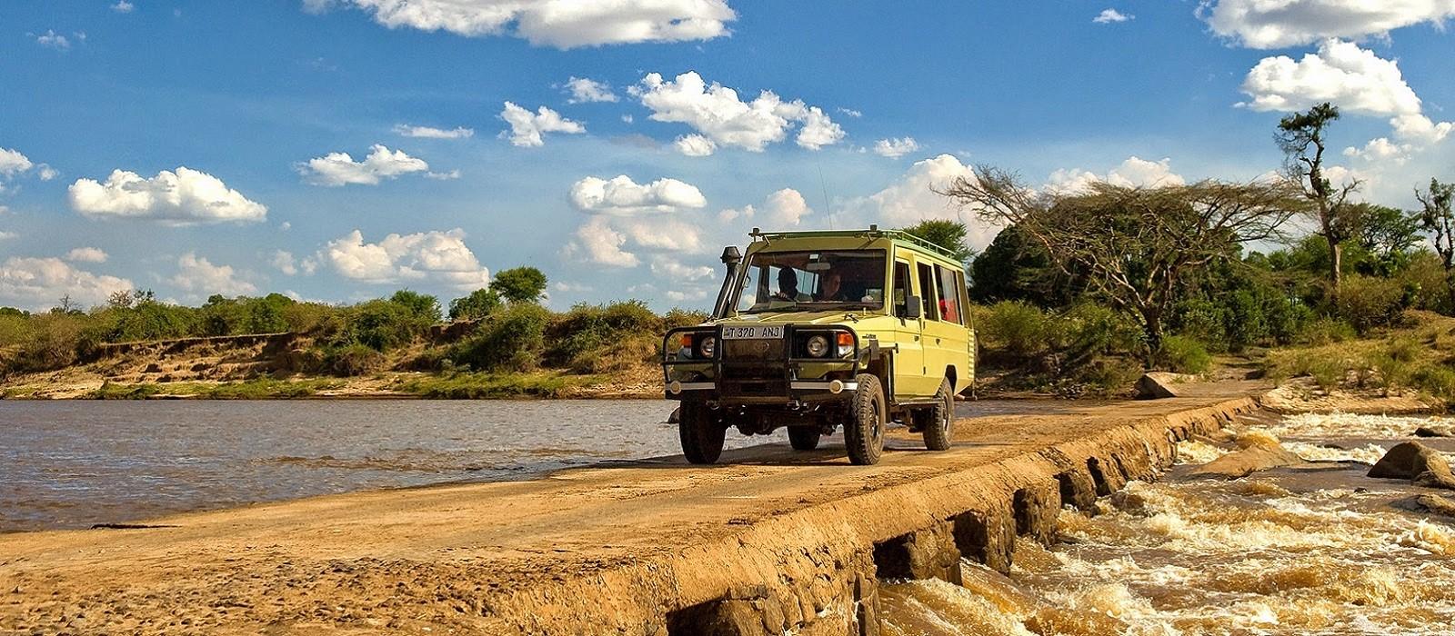 Safari Höhepunkte: Tansania, Simbabwe und Botswana Urlaub 1