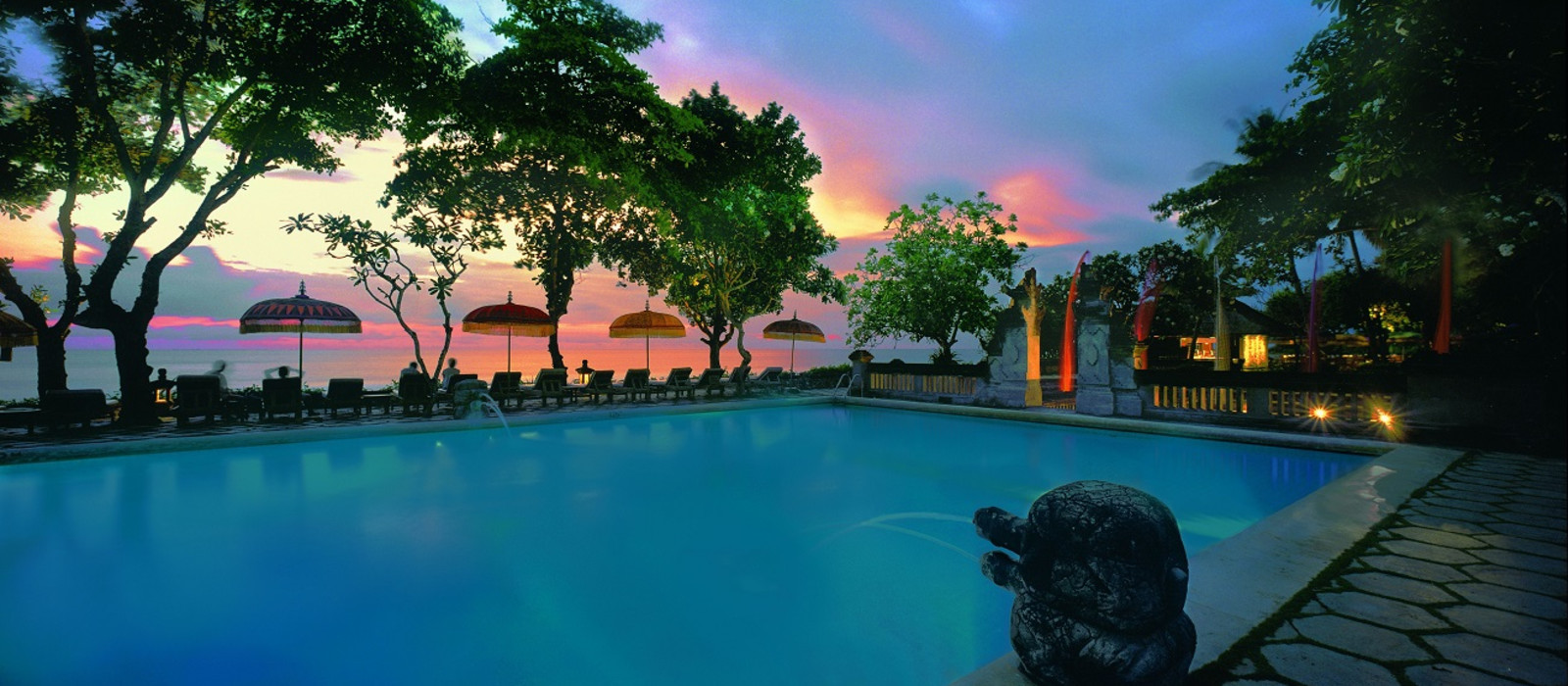 Hotel Oberoi Seminyak Indonesien