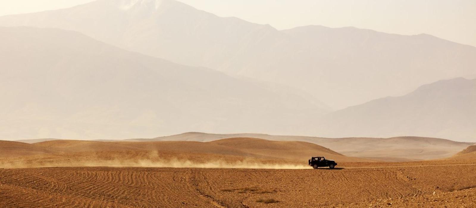 Reiseziel Agafay Wüste Marokko