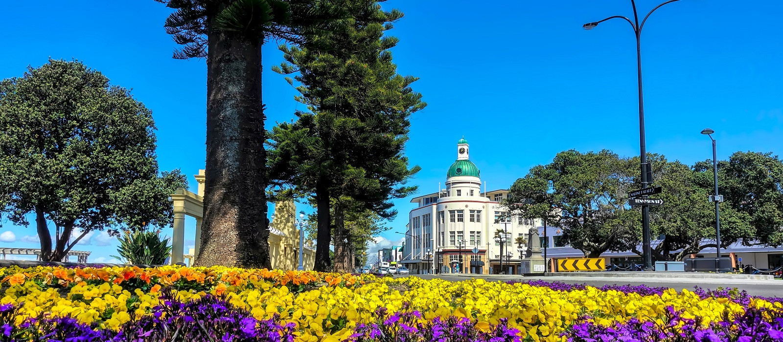 Reiseziel Napier Neuseeland