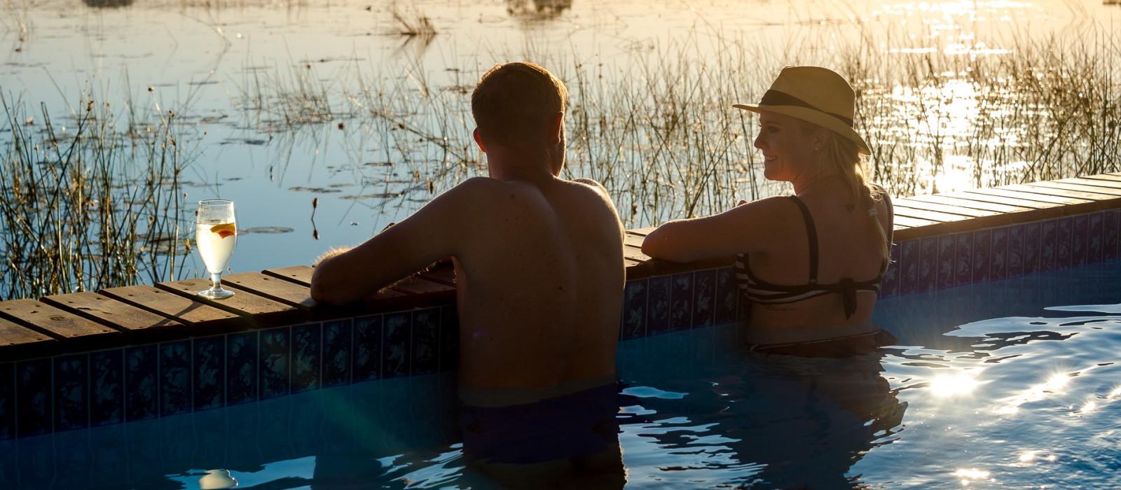 Hoch über Botswana: Safari-Angebot Urlaub 1