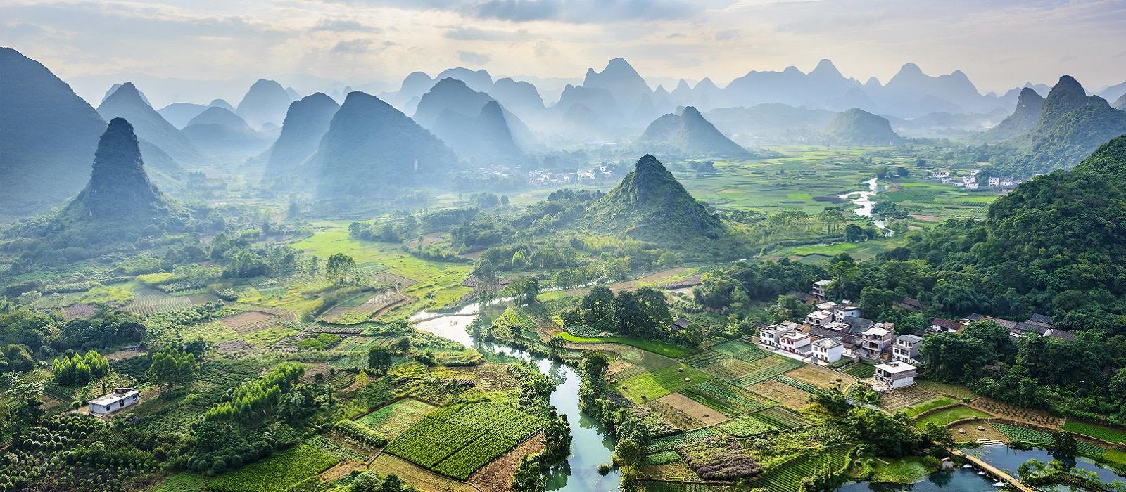 China: Von Kaiserstädten & legendären Landschaften Urlaub 1
