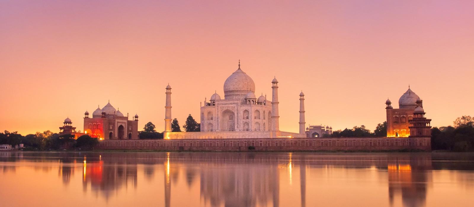 Indien für Einsteiger: Glanzlichter des Goldenen Dreiecks Urlaub 1