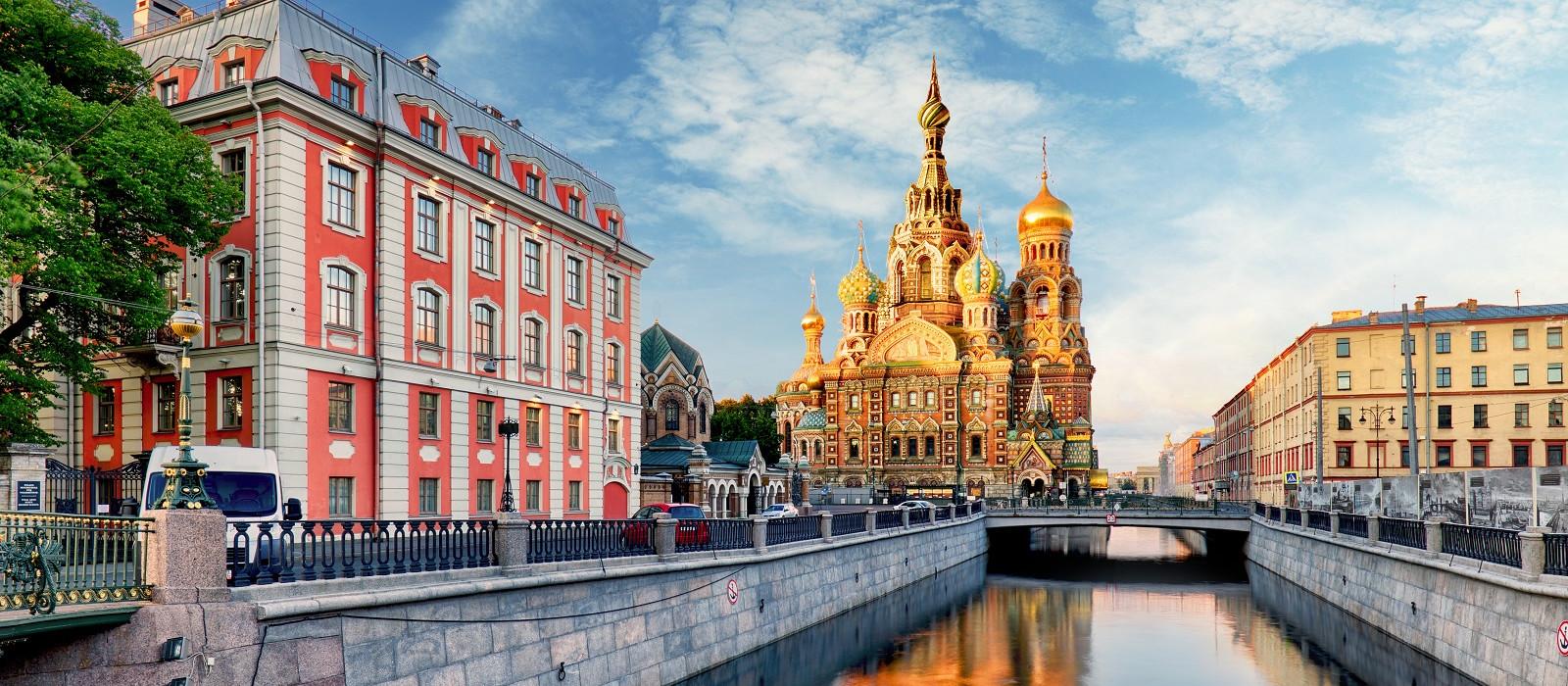 Russland: St. Petersburg & Karelien Urlaub 1
