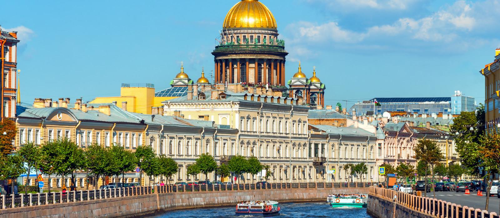 Russische Metropolen: St. Petersburg und Moskau Urlaub 1
