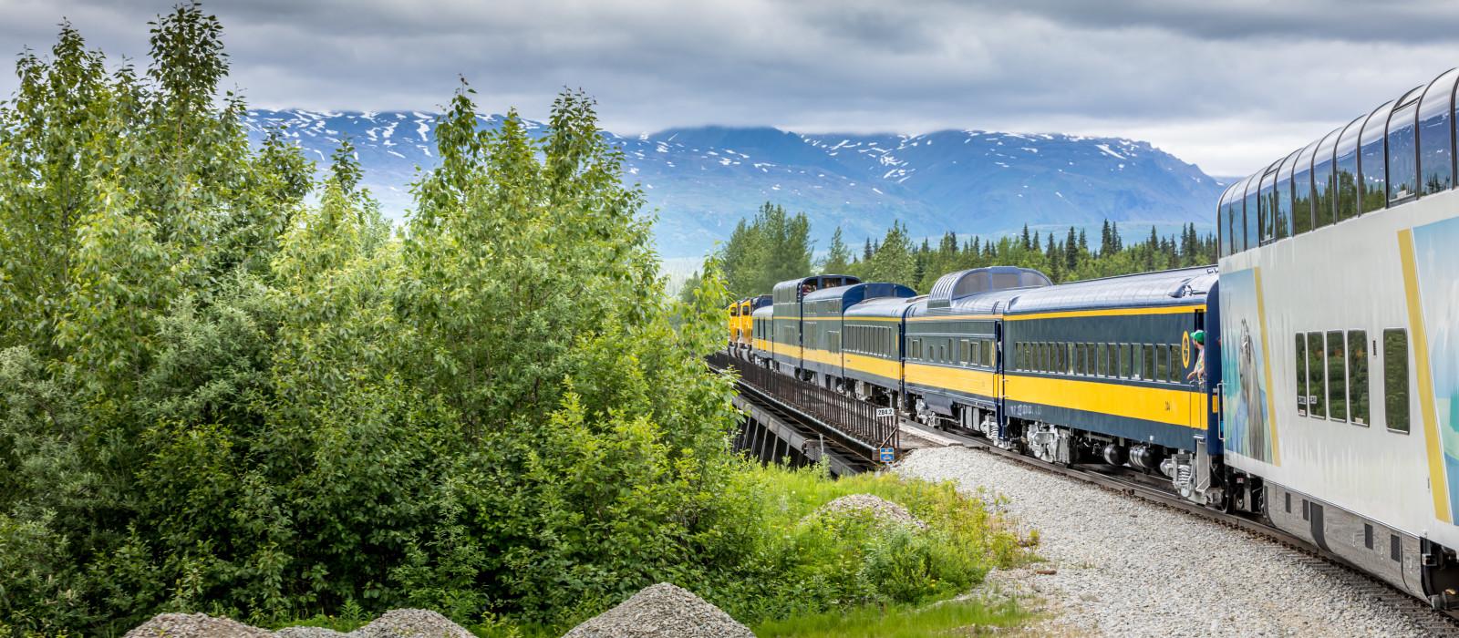 Alaska: Rail Adventure Tour Trip 1