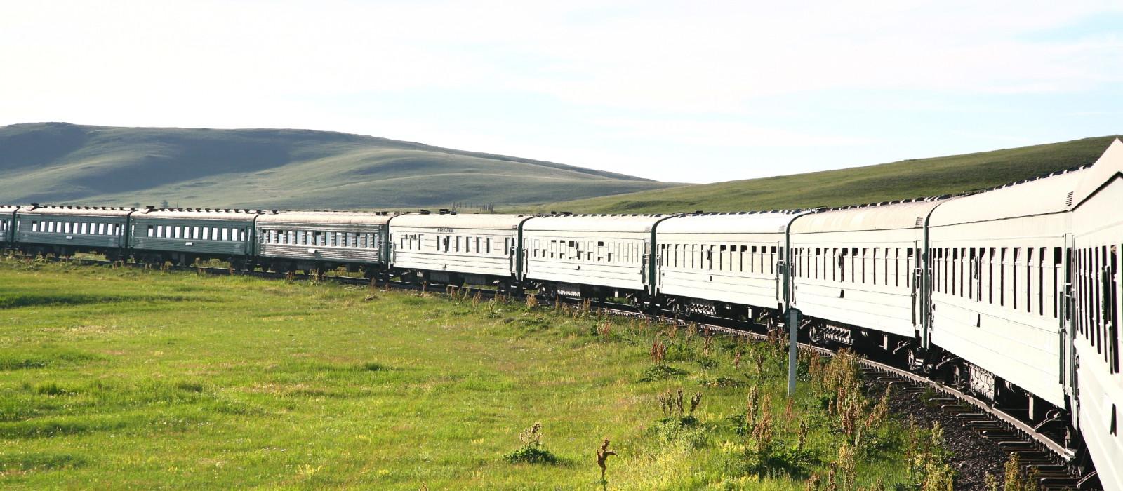 Zugreise im 'Imperial Russia' von Moskau nach Wladiwostok Urlaub 1