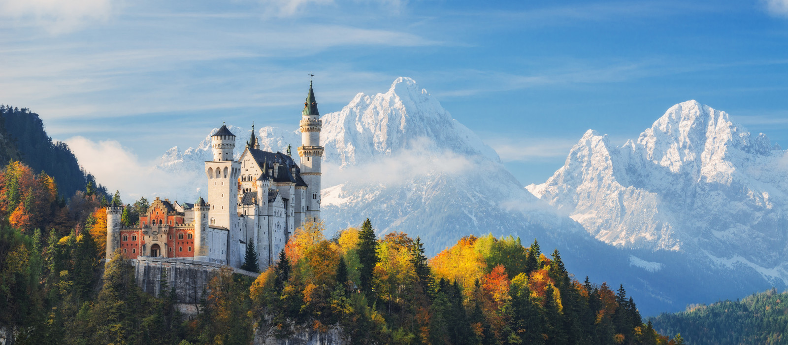 Essential Europe by Rail: Austria, Germany and Switzerland Tour Trip 1