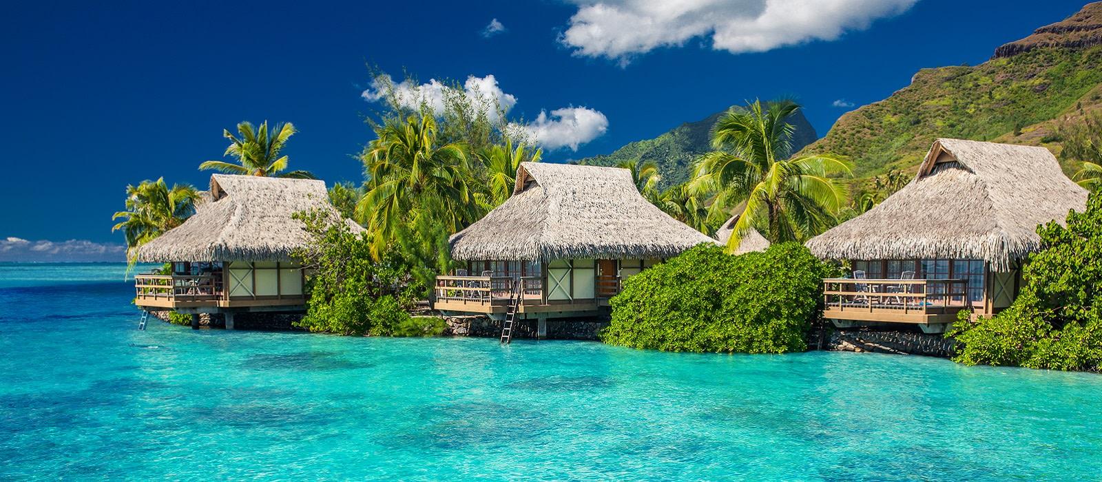 Französisch Polynesien – romantische Reise von Insel zu Insel Urlaub 1