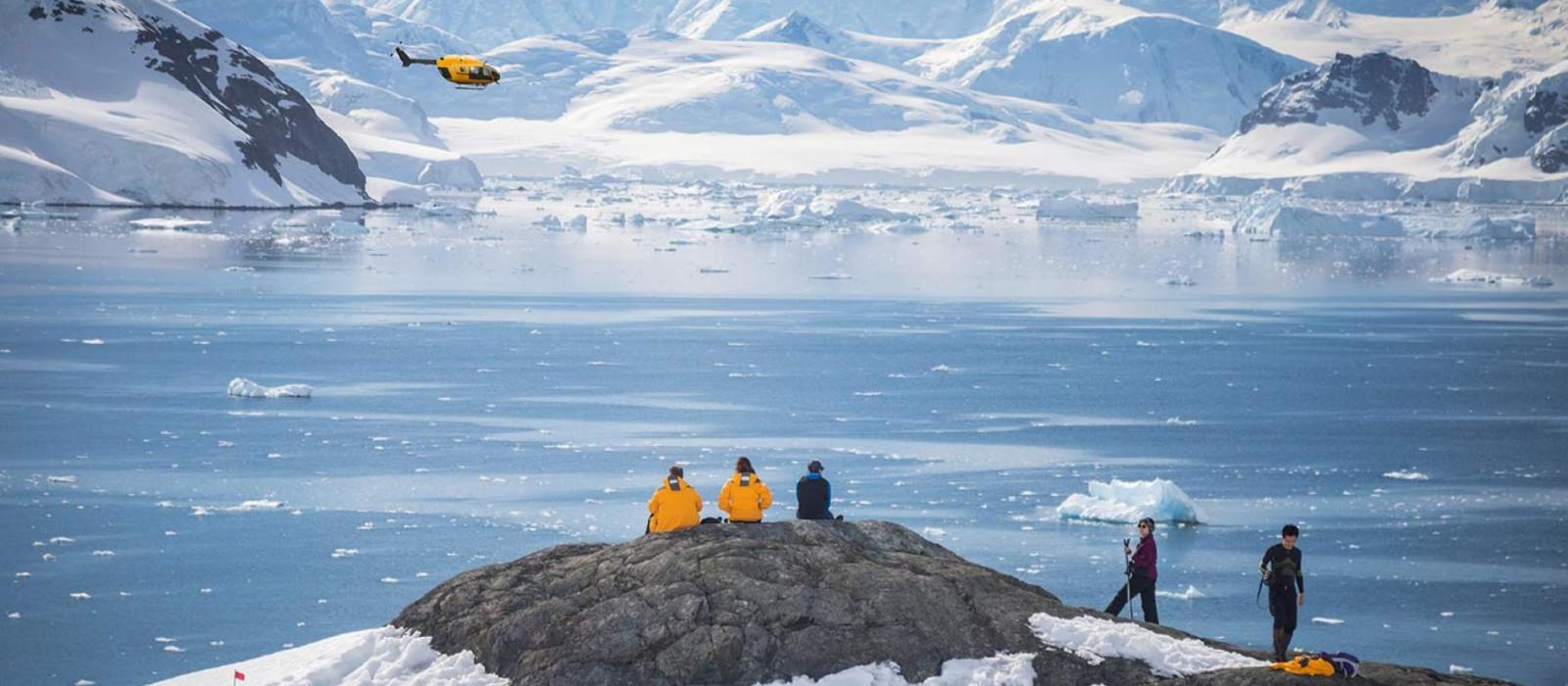 Antarctic Express: Flying the Drake Tour Trip 1