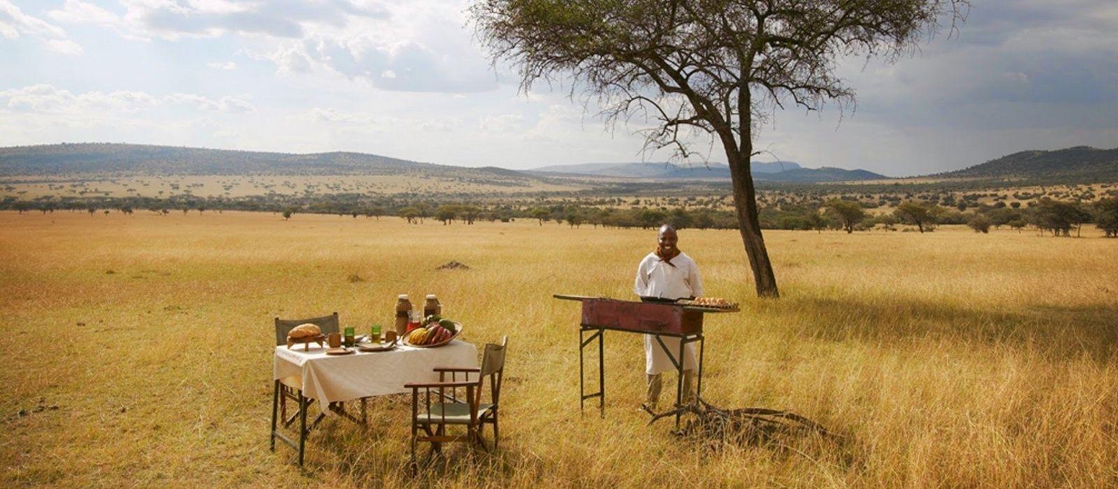 Luxus am See, Wildnis und wilde Tiere in Tansania Urlaub 2
